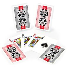 Copag Lace 2016 WSOP World Series of Poker Plastic Playing Cards, Red/Black,