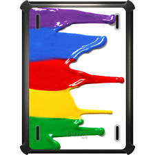 OtterBox Defender for iPad Air Mini 1 2 3 4 Rainbow Paint Dripping