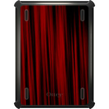 OtterBox Defender for iPad Air Mini 1 2 3 4 Bright Red Curtains