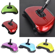 Household Hand Push Sweeper Cleaning Sweeping Broom Dustpan without Electricity