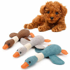 Dog Toy Pet Puppy Plush Sound Chew Squeaker Squeaky For Wild Goose Dogs Toy