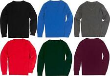 Girls Boys Kids Ex M&S Marks and Spencer Pure Cotton School Jumper Sweater