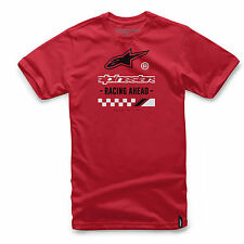 Alpinestars Men's Ahead T-shirt Motocross Tee Astars Logo Racing Ahead