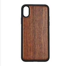 Retro Natural Real Walnut Wood Wooden Cover Case for iPhone 8 7 7 Plus 6 6S Plus