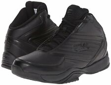 Fila IMPORT Mens Black High Top Athletic Basketball Sneaker Shoes