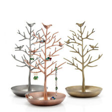 Jewelry Iron Tree Stand Display Organizer Necklace Ring Earring Holder Show Rack