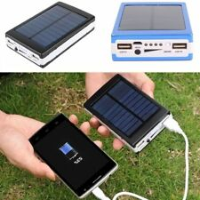 50000Mah Dual-USB Solar Power Bank Battery Charger for Cell Phone iPhone 7 6S 6
