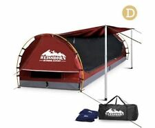 Weisshorn Double Camping Swags Canvas Free Standing Dome Tent Bag