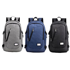 Anti-Theft Waterproof Notebook Backpack Laptop With Charging Port Outdoor Bag