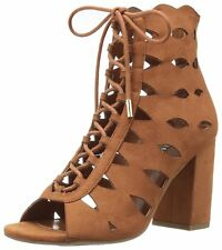 GUESS Womens Owina Peep Toe Casual Ankle Strap Sandals