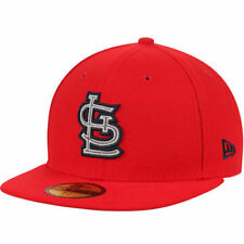 St. Louis Cardinals New Era Nwe MLB Flected Team Fitted Headwear - Red