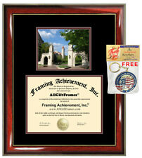 Indiana University Diploma Frame College Degree Framing Certificate Plaque Gift