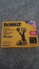"DEWALT DCF885C1 20V Max LIT-Ion 1/4"" Variable Speed Impact Driver Kit-New in Box"