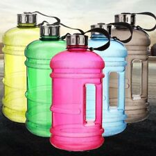 2.2 Litre Large Drink Water Bottle Training Sports Fitness BPA Free Gym Workout