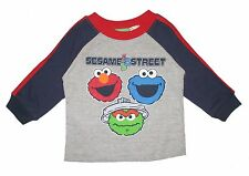 Sesame Street Toddler Boys Tee t Shirt 123 Elmo Cookie Monster Oscar 4t New Tags