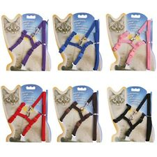 Adjustable Small Dog Pet Puppy Cat Nylon Harness Leash Lead Vest Body Strap Belt