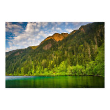 Noir Gallery Mountains Along Lake Crescent in Olympic National Park, Washington