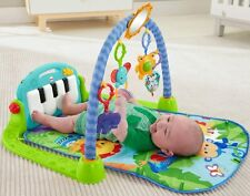 Fisher-Price Kick and Play Piano Gym Pink or Blue Boy Girl Activity Mat