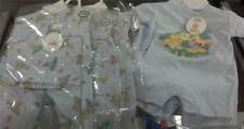 NWT PRECIOUS MOMENTS ONE PIECE OUTFITS LOT OF 2 BOYS  3/6 MONTHS RETAIL $35.98