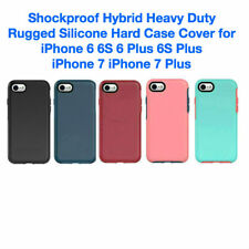 Shockproof Hybrid Heavy Duty Rugged Silicone Hard Case for iPhone 6 6S 7 6+ 7+