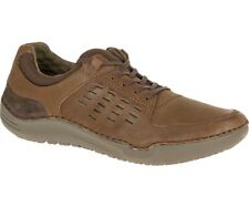 Hush Puppies HINTON METHOD Mens Brown Leather Oxfords Comfort Casual Shoes