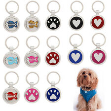 Pet tag extra small dog cat puppy toy dog collar ID charm custom engraved tags