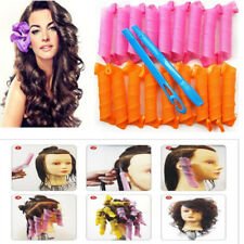 55CM Hair Curlers Twist Spiral Circle Curl Ringlets Magic Rollers Styling Tool