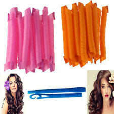 20-55cm Hair Curlers Twist Spiral Circle Curl Ringlet Magic Rollers Styling Tool