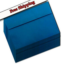 Deep Sea Blue Astrobright & More A7 Envelope for 5 x 7 Greeting Card, Invitation