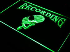 "16""x12"" i206-g Recording On The Air Radio Studio Neon Sign"