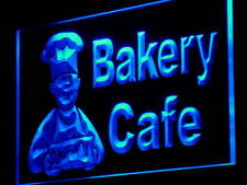 """16""""x12"""" i951-b Bakery Cafe Shop Bread Cake NEW Neon Sign"""