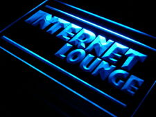 "16""x12"" i327-b Internet Lounge Cafe Shop Access Neon Sign"