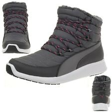 Puma St Winter Boat Winter Boots Padded Snow Boots Grey 361216 03