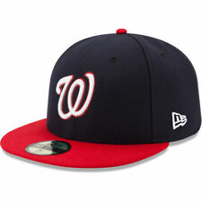 Washington Nationals 2017 MLB Authentic Collection On Field 59Fifty Headwear