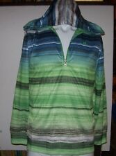 New Hurley youth boys zipper front hoodie track jacket small 7 8  or Large 14 16