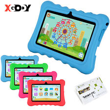 XGODY 7'' Quad Core Android4.4 Tablet PC WiFi Webcam 8GB for Kids Children Gift