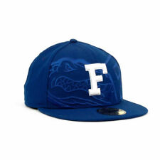 Florida Gators Trilogy NCAA New Era 5950 Fitted Flat Bill Hat Cap University UF