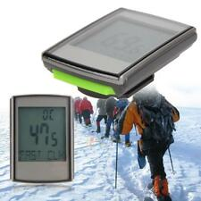 Wireless LCD Bicycle Computer Speedometer Odometer+Cadence+Heart Rate Mode hz