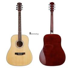 41 inch Wood Acoustic Guitar 21 inch Soprano Musical Instrument Ukulele BSTY