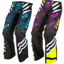 Fly Racing MX Kinetic Over The Boot Youth Girls Dirt Bike Road Motocross Pants