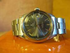 RARE TUDOR SMALL ROSE PRINCE OYSTERDATE MODEL 7966 AUTOMATIC 1960s VINTAGE WATCH