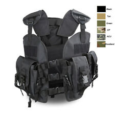 Outdoor Body Armor Combat Assault Waistcoat Tactical Vest Plate Carrier Vest