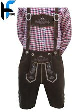 German Bavarian Trachten Authentic Men Lederhosen Costume Oktoberfest Outfit