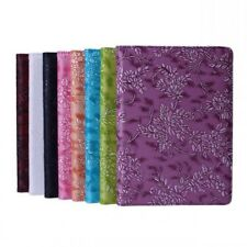 NEW 360° Rotating Grape Pattern Smart Stand PU Leather Case For iPad Air 2