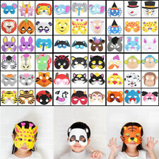 Cute Kids Cartoon Animal Masks Wolf Tiger Bat Costume Halloween Xmas Party Props
