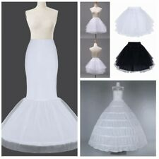 BRIDAL wedding petticoat underskirt crinoline prom dress bridal slip hoop skirt