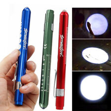 Torch Flashlight LED Pen Tactical Mini Alloy AAA Battery Lamp Powerful