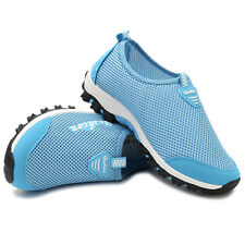 Women Breathable Mesh Sport Shoes Slip-on Lightweight Athletic Shoes