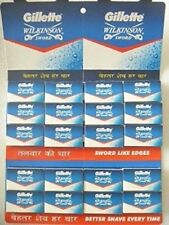 Gillette WILKINSON SWORD Double Edge Safety Razor Blades
