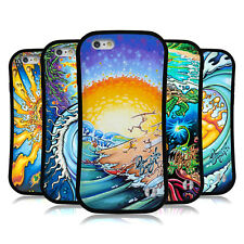 OFFICIAL DREW BROPHY SURF ART HYBRID CASE FOR APPLE iPHONES PHONES